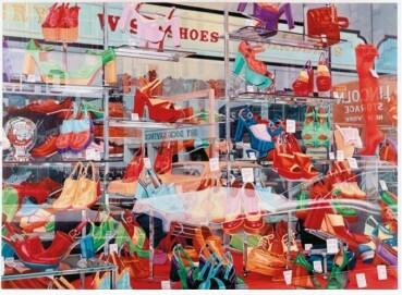 Don Eddi: Strumpfhosen, Handtaschen und Schuhe, 1974, Ludwig Forum für internationale Kunst