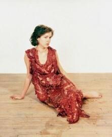 Jana Sterbak, Vanitas: Flesh Dress for an Albino Anorectic, 1987