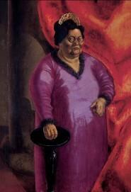 Otto Dix, Bildnis der Kunsthändlerin Johanna Ey,1924, Öl auf Leinwand, Kunstsammlung Nordrhein-Westfalen, erworben 2015 durch die Gesellschaft der Freunde der Kunstsammlung Nordrhein-Westfalen e.V.