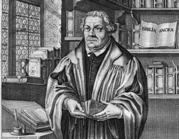 Stich von Martin Luther