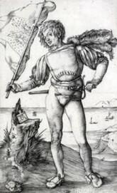 Albrecht Dürer, Der Fahnenschwinger, um 1501