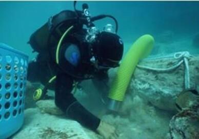 Archäologie unter Wasser