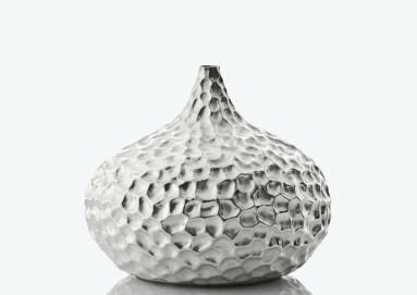 Carsten From Andersen, Vase Tropfen, 2014, 999/000 Silber