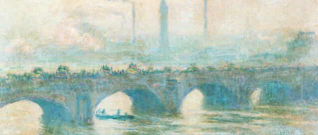Claude Monet  (1840–1926) Waterloo Bridge 1903 Öl auf Leinwand 65 x 101,5 cm