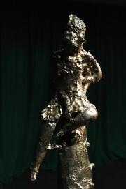 Ma-san, Leiko Ikemura, 2004 (Terrakotta glasiert, 129 x 60 x 60 cm)