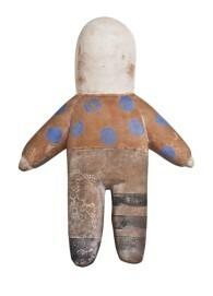 Luca Lanzi, Feticcio, 2016, Terrakotta, H 52 cm, B 30 cm, T 10cm