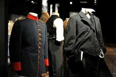 Herrenkleidung aus den ersten Jahrzehnten des 20. Jahrhunderts
