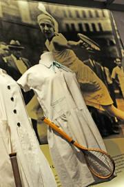 Tenniskleidung für Mädchen, 1920er Jahre