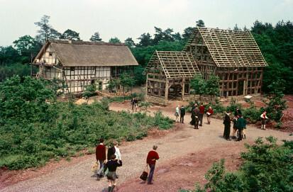 LVR-Freilichtmuseum Kommern. Die Baugruppe Westerwald/ Mittelrhein im Aufbau 1964/65
