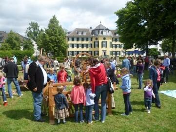 Kinderfest und Picknick im Park am LVR-Industriemuseum Textilfabrik Cromford
