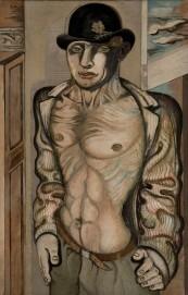 Jankel Adler, Der Künstler (Artist), 1927 Öl auf Leinwand, 100,4 x 65 cm French & Company, New York
