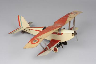 Flugzeug Doppeldecker, Meccano, 1938
