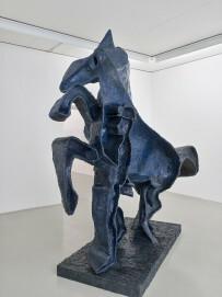 Kunst & Kohle - Die schwarze Seite Ausstellungsansicht Museum DKM, Duisburg  Thomas Virnich, Tobias, Freiheit spürend, 2018
