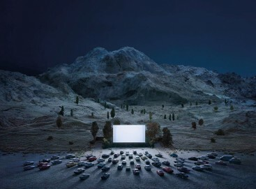 Thomas Wrede, The luminous Screen, 2015, 140 x 190 cm, Aus der Serie: Real Landscapes