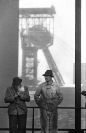 Bergleute der Zeche Osterfeld, 1961