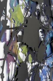 Heike Weber, Scrub (Detail), 2018, Scherenschnitt, doppellagig; Acryl auf Papier, Tonpapier,  275 x 470 cm, Im Besitz der Künstlerin