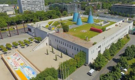 Ausstellungsansicht Der Dachgarten