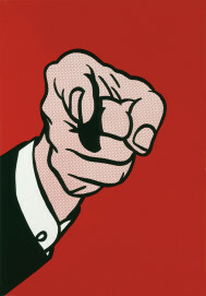 Roy Lichtenstein, Finger Pointing, 1973