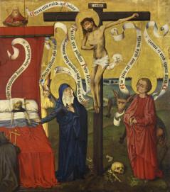 Meister des Sinziger Kalvarienberges, Ars bene moriendi, um 1475