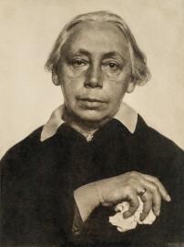 Hugo Erfurth: Käthe Kollwitz, 1928, Ölpigmentdruck