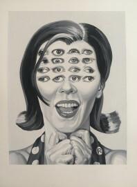 Ruth Marten, 16, 1997, Gouache auf Papier, Sammlung der Künstlerin