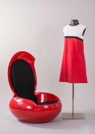 Minikleid im Mondrian-Look von 1966