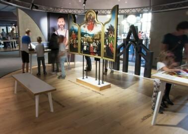 Bereich zum Thema Kathedrale, Museon Den Haag, 2017