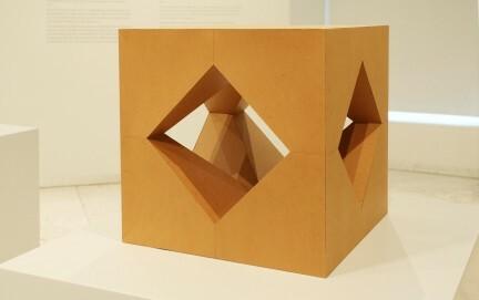 Erwin Heerich: Kartonplastik, 1965