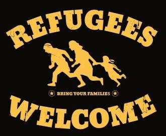Sticker der Willkommenskultur, Deutschland 2014