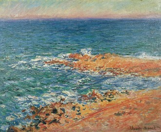 Claude Monet, Blick auf das Meer, 1888, Leinwand, 65 x 82 cm