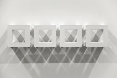 Josef Neuhaus o. T., 1989 (41-nh004); Holz, weiß gefasst