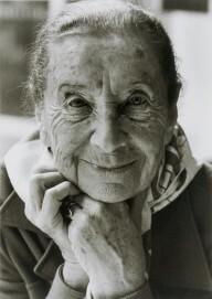 Porträt Lucia Moholy, 1980, Silbergelatine, 32,7 x 22,4 cm, Museum Ludwig, Köln