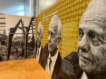 """Ausstellung """"Bartning.Bartning.Bartning. Architekt der Moderne"""" im LVR-Freilichtmuseum Kommern"""