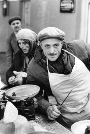 Käsehändler in Tiflis, Georgien, 1962