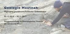 Geologie Hautnah – Highlights geowissenschaftlicher Exkursionen