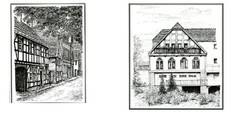 Bergheim - damals und heute