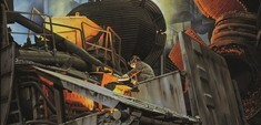 Industriegemälde von Alexander Calvelli