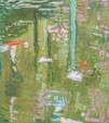 Wasserflimmern - Malerei von Janni E. Bruch und Farblinolschnitte von Jutta Reucher