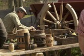 Verrücktes Holz im LVR-Freilichtmuseum Kommern