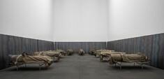 """KUNST TRIFFT KOHLE: Aktion """"Kohle-Ofen, brennbar"""" von Timm Ulrichs und Gespräch zur großen Kunst & Kohle-Ausstellung der RuhrKunstMuseen: Was hat es gebracht und wie geht es weiter?"""